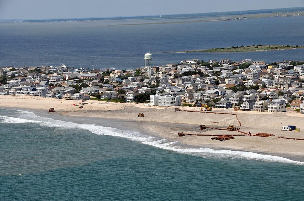 Coastal Reconstruction To Begin At New Jersey S Long Beach