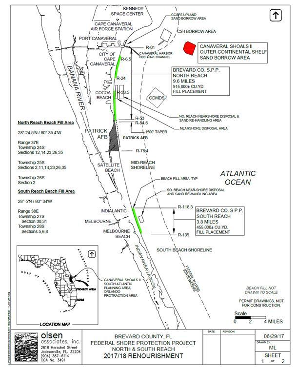 Florida Wetlands: Wetlands Near Brevard County  |Brevard County Area Map